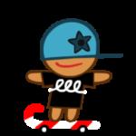 スケーター味クッキーの詳細情報
